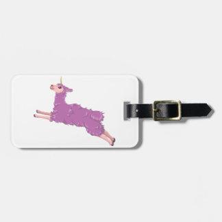 Llamacorn Luggage Tag