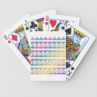 Llamapalooza Bicycle Playing Cards