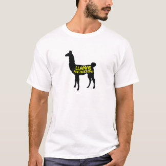 Llamas are awesome! T-Shirt