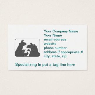 Llamas, Bunnies & Geese | Christmas or Anyday Business Card