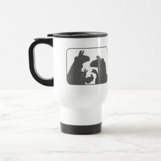 Llamas, Bunnies & Geese | Christmas or Anyday Travel Mug