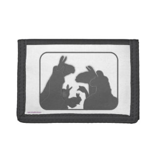 Llamas, Bunnies & Geese | Christmas or Anyday Tri-fold Wallets