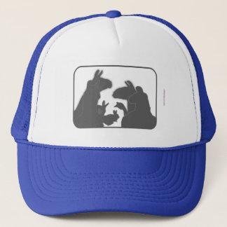 Llamas, Bunnies & Geese | Christmas or Anyday Trucker Hat