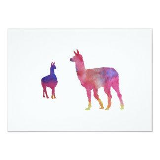 Llamas Card
