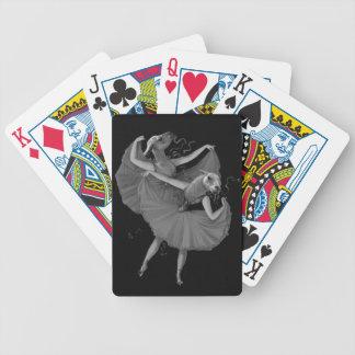 Llamas dancing bicycle playing cards