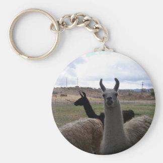 Llamas Keychain