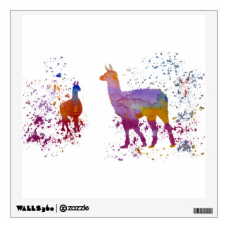 Llamas Wall Sticker