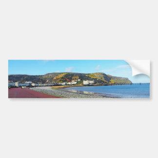 Llandudno, North Wales. Bumper Sticker