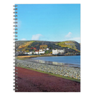 Llandudno, North Wales. Spiral Notebook
