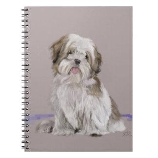 Llasa Apso Spiral Notebook