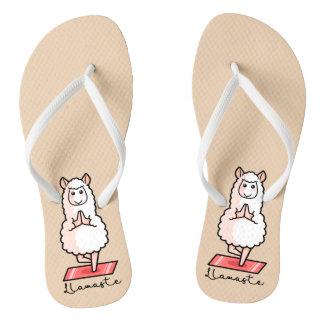 Lllamaste Flip Flops