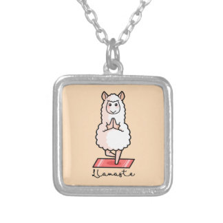 Lllamaste Silver Plated Necklace
