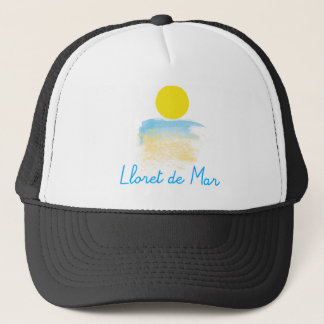 Lloret de Mar beach & sun Trucker Hat