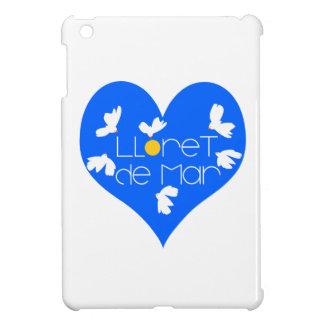 Lloret de Mar souvenir blue heart. iPad Mini Cases