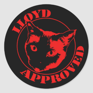 Lloyd Approved Stickers