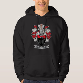 Lloyd Family Crest Coat of Arms Hoodie
