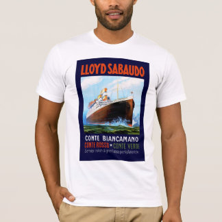 Lloyd Sabaudo ~ Conte Biancamano T-Shirt