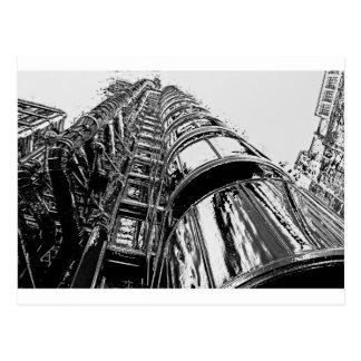 Lloyds Building London Postcard
