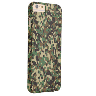 !llustration of camouflage barely there iPhone 6 plus case