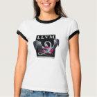 LLVM Women's Black/White Shirt - Front Logo