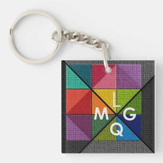 LMQG Logo key chain