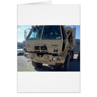 LMTV AMERICAN MILITARY GREETING CARD