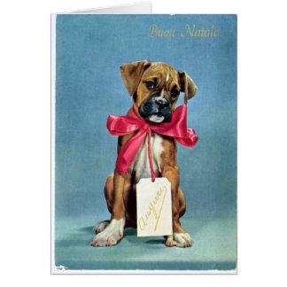 LMU Library Christmas Dog Greeting Card