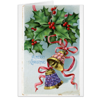 LMU Library Floral Bells Christmas Card