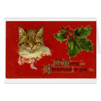 LMU Library Kitten Christmas Card