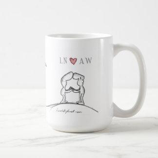 LN heart AW Coffee Mug