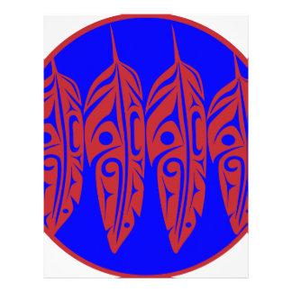 LNeel-Four-Feathers-Red-Blue Letterhead