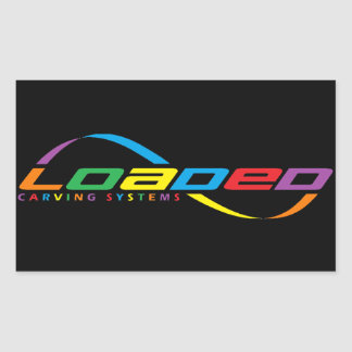 loaded longboards sticker