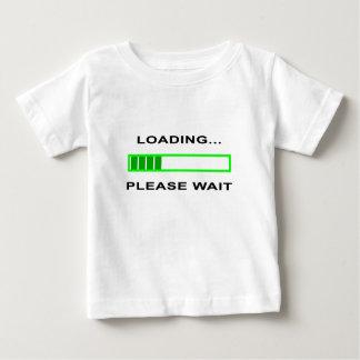Loading… Please Wait Baby T-Shirt