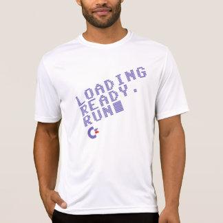 Loading. Ready. Run. Men's performance shirt