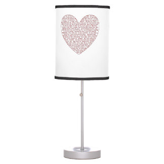 Loads Of  Love Table Lamp