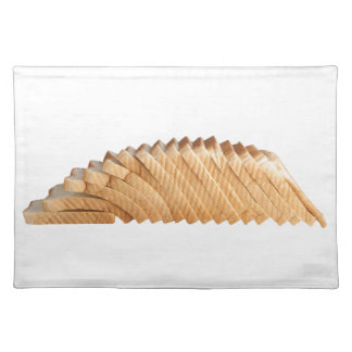 Loaf of sliced bread placemat