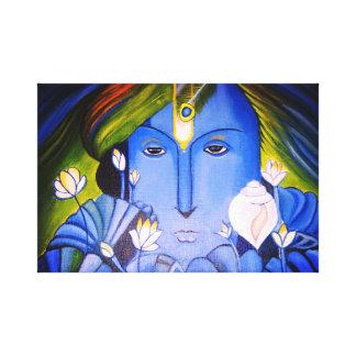Loard Krishna Canvas Print