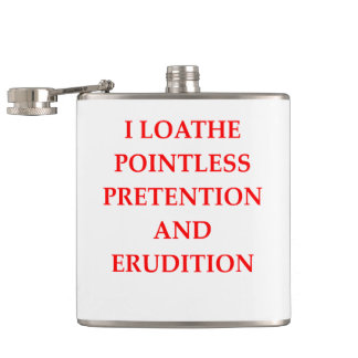 LOATHE HIP FLASK