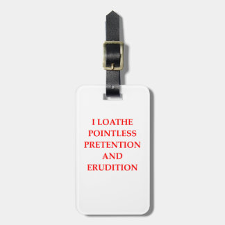 LOATHE LUGGAGE TAG
