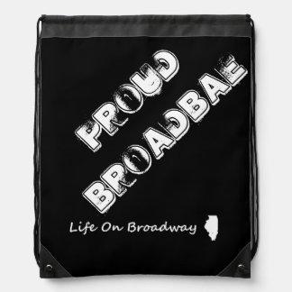 """LOB """"Proud BroadBAE"""" Drawstring Bad Drawstring Bag"""