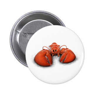 Lobster 2 Inch Round Button