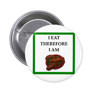 lobster 2 inch round button
