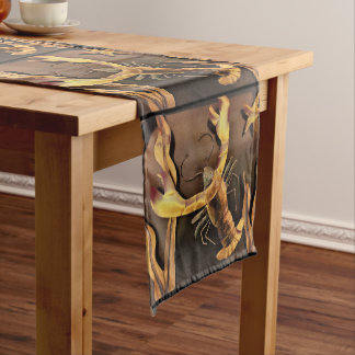 Lobster Abstract Art Long Table Runner