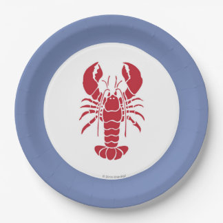 Lobster Bake Paper Plate