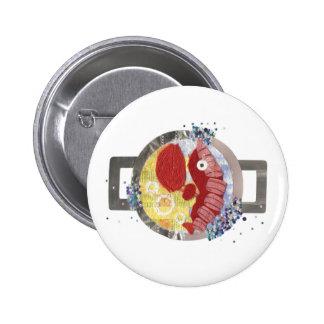 Lobster Beach Badge 2 Inch Round Button