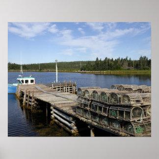 Lobster Boat, Mushaboom, Nova Scotia, Canada Poster