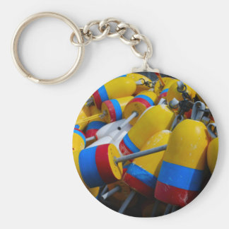 Lobster Buoy Keychain - 1