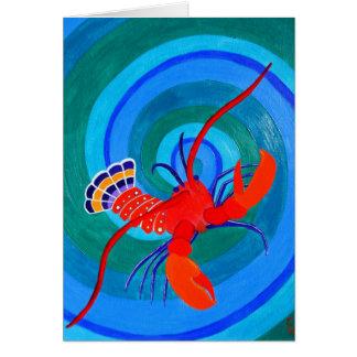 Lobster... Card
