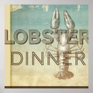 Lobster Dinner Poster