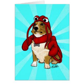 Lobster Dog Card